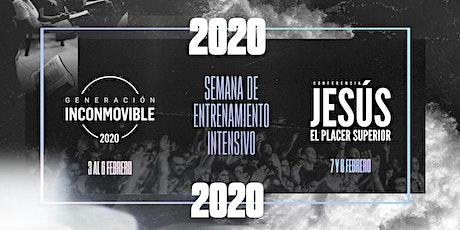 GENERACIÓN INCONMOVIBLE 2020 entradas
