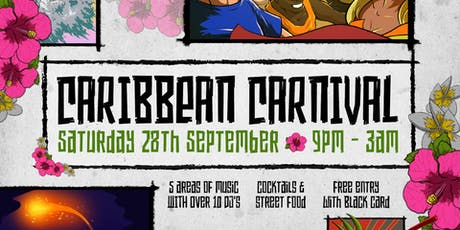 2019/20 Caribbean Carnival (Saturday 28 September 2019) tickets