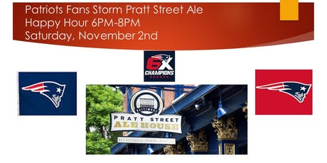 Patriots Fans Storm Pratt Street Ale  tickets