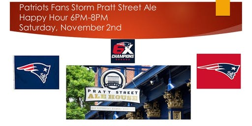 Patriots Fans Storm Pratt Street Ale