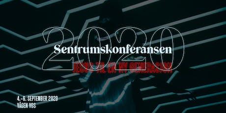 Sentrumskonferansen 2020 tickets