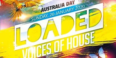 LOADED Voices of House. Boat party tickets