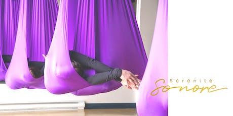 Yoga aérien et harpe billets