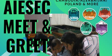 Meet & Greet AIESEC in ANU tickets