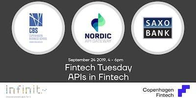Fintech Tuesday - APIs in Fintech