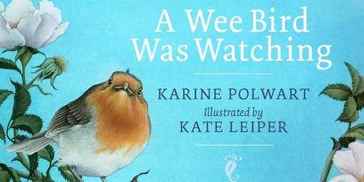 WORDS - A WEE BIRD WAS WATCHING