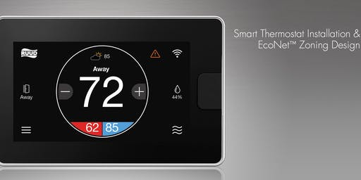 Smart Thermostat Installation & EcoNet Zoning Design