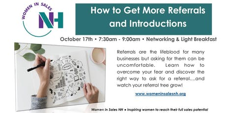 How to Get More Referrals and Introductions tickets