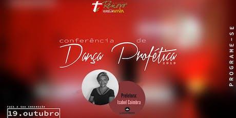 Dança profética com Isabel Coimbra ingressos