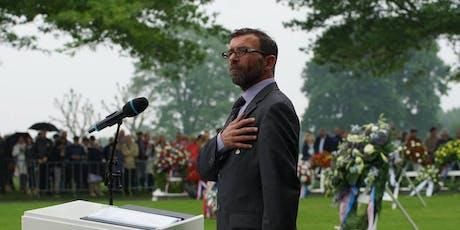 We Do Remember: Lezing over 75 jaar Amerikaanse begraafplaats Margraten billets
