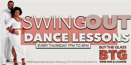 Swing Out Dance Lessons & Wine | NW Houston