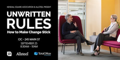 Unwritten Rules - How to Make Change Stick tickets