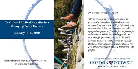 Symposium: Traditional Biblical Sexuality in a Changing Youth Culture 2020 tickets