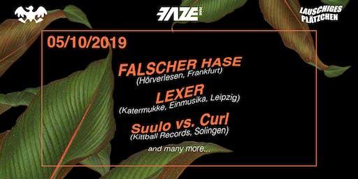 Lauschiges Plätzchen w/ Falscher Hase & Lexer im U-Club