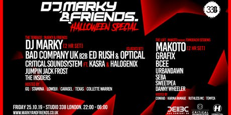 DJ Marky & Friends Halloween Special tickets