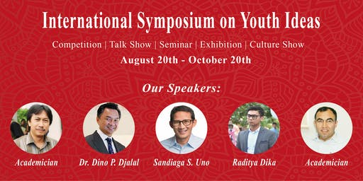 International Symposium on Youth Ideas 2019