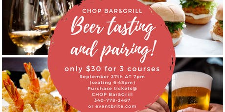 Beer Tasting and Pairing with Leatherback beer tickets