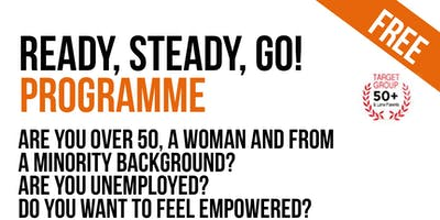 Women Over 50:  Ready, Steady, Go! Free back to work course