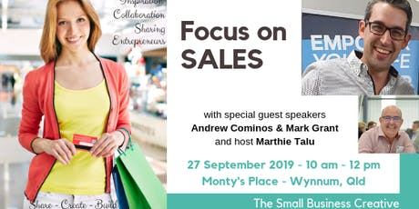 Focus on Sales with Andrew Cominos tickets