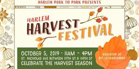 Harlem Harvest Festival 2019 tickets