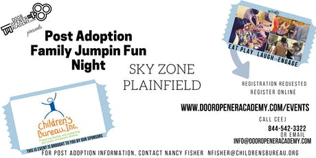 Post Adoption Family Jumpin' FUN Night Sky Zone Plainfield tickets