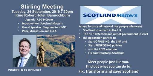 Stirling Supporter Meeting