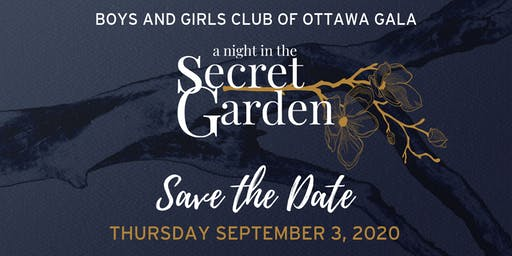 "2020 BGCO Gala: ""a night in the Secret Garden"""