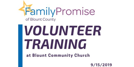 Volunteer Training