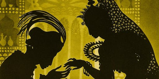 The Adventures of Prince Achmed+ Shadow Puppet Activity