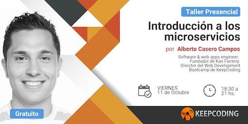 Taller presencial: Introducción a la arquitectura de microservicios