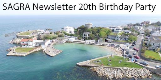 SAGRA Newsletter 20th Birthday Party