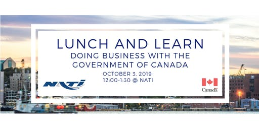 NATI Lunch and Learn: Doing Business with the Government of Canada