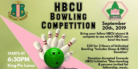 HBCU Bowling Competition tickets