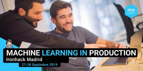 Machine Learning in production Madrid tickets