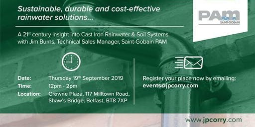 Specifying Cast Iron Rainwater & Soil Systems CPD Seminar with JP Corry