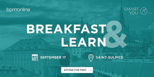 Breakfast & Learn - L'accélération des entreprises à l'ère du numérique.
