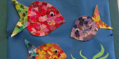 Collage And Print Class (Ages 12+)