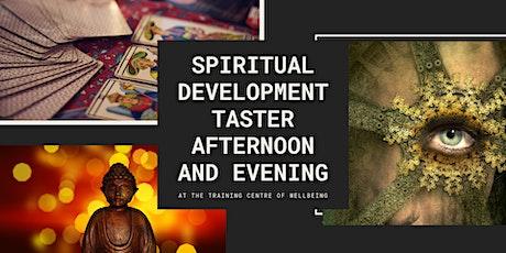 Spiritual Development taster afternoon and evening tickets
