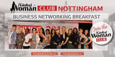 GLOBAL WOMAN CLUB NOTTINGHAM: BUSINESS NETWORKING BREAKFAST - SEPTEMBER tickets