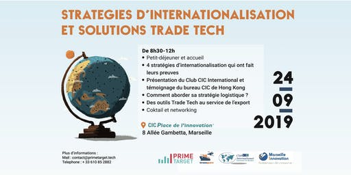 Stratégies d'internationalisation et solutions Trade Tech