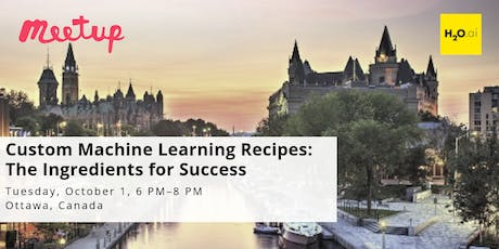 Custom Machine Learning Recipes: The Ingredients for Success tickets