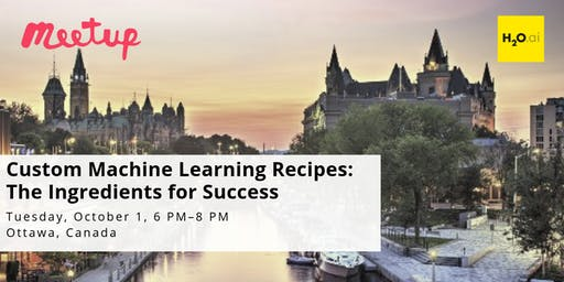 Custom Machine Learning Recipes: The Ingredients for Success