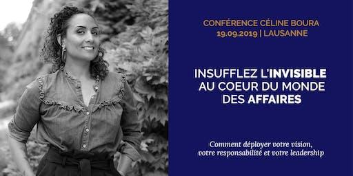 """Conférence """"Insuffler l'invisible au coeur du monde des affaires"""""""