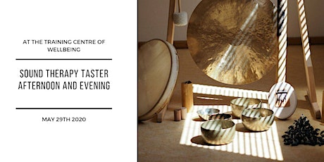 Sound Therapy taster afternoon and evening tickets