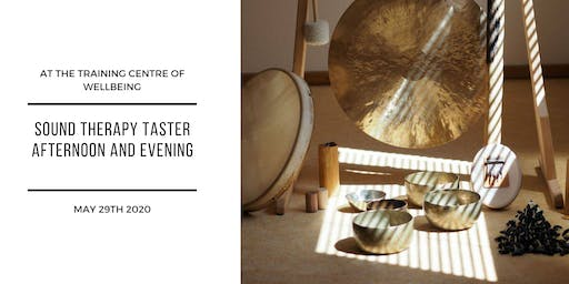 Sound Therapy taster afternoon and evening - FREE to attend