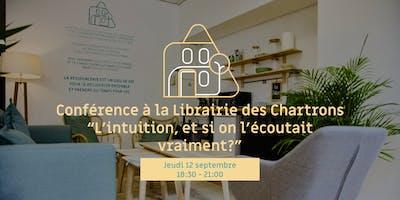Conférence à la Librairie des Chartrons