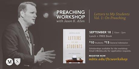 Preaching Workshop with Jason K. Allen tickets