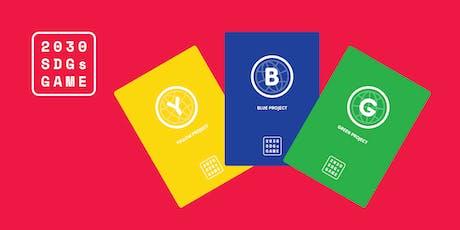 2030 Sustainable Development Goals Game - Brighton Meaning Fringe November 2019 #SDGs tickets