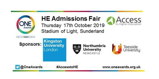 Higher Education Admissions Fair for Access to HE students