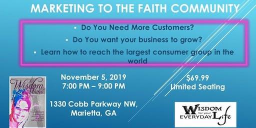 Marketing to the Faith Commuinity